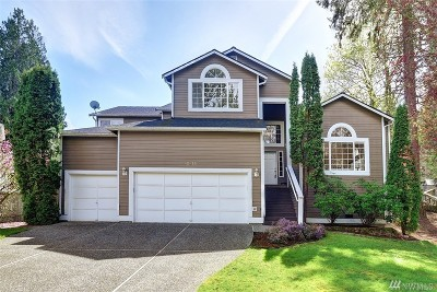 Kirkland Single Family Home For Sale: 12725 NE 88th Lane