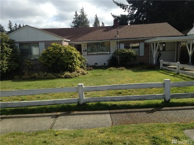 Shoreline Single Family Home For Sale: 15710 1st Ave NW