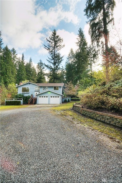 Snohomish Single Family Home For Sale: 7225 Maltby Rd