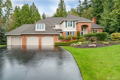 Woodinville Single Family Home For Sale: 22518 NE 165th Ct
