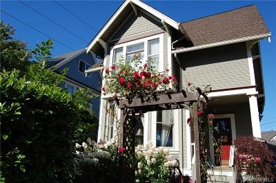 Tacoma Single Family Home For Sale: 2320 N Alder St