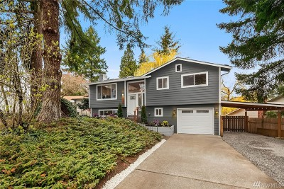 Woodinville Single Family Home For Sale: 12508 NE 154th St