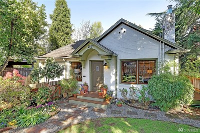 Seattle Single Family Home For Sale: 1814 25th E