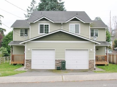 Tumwater Multi Family Home For Sale: 811 3rd Ave SW #A&B