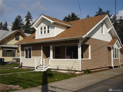 Single Family Home For Sale: 5223 S Warner St