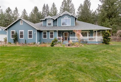 Roy Single Family Home For Sale: 34008 97th Ave S