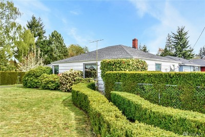 Tacoma Single Family Home For Sale: 2501 N Mullen St