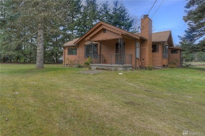 Tumwater Single Family Home For Sale: 8841 Littlerock Rd SW