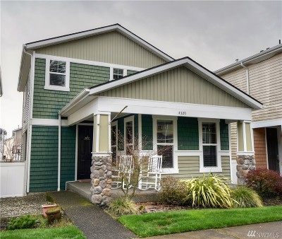 Lacey Single Family Home For Sale: 4320 Freemont St NE