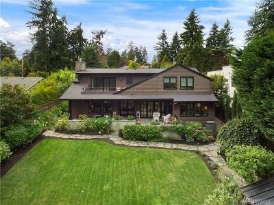 Medina Single Family Home For Sale: 2414 80th Ave NE