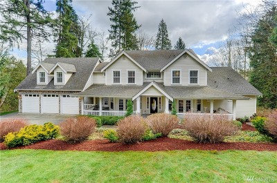 Woodinville Single Family Home For Sale: 21921 60th Ave SE