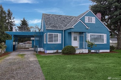 SeaTac Single Family Home For Sale: 3725 S 168th St