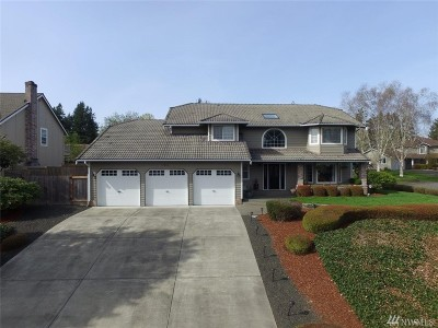 Tumwater Single Family Home For Sale: 1011 Surrey Trace St SE