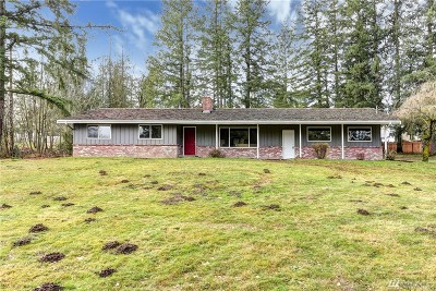 Enumclaw Single Family Home For Sale: 22427 SE 399th St