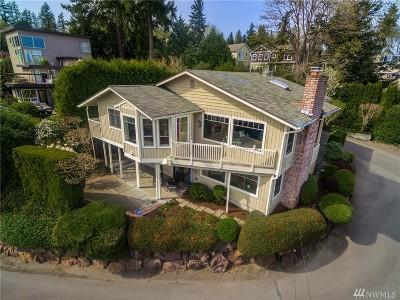 Lake Forest Park Single Family Home For Sale: 3722 NE 151st St