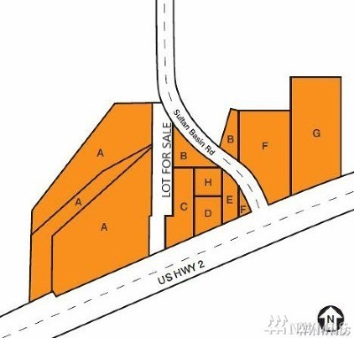 Sultan Residential Lots & Land For Sale: State Route 2