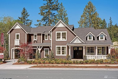 Bothell Single Family Home For Sale: 15922 99th (Homesite 2) Place NE