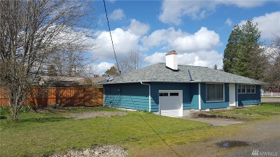 Shelton WA Single Family Home For Sale: $193,000