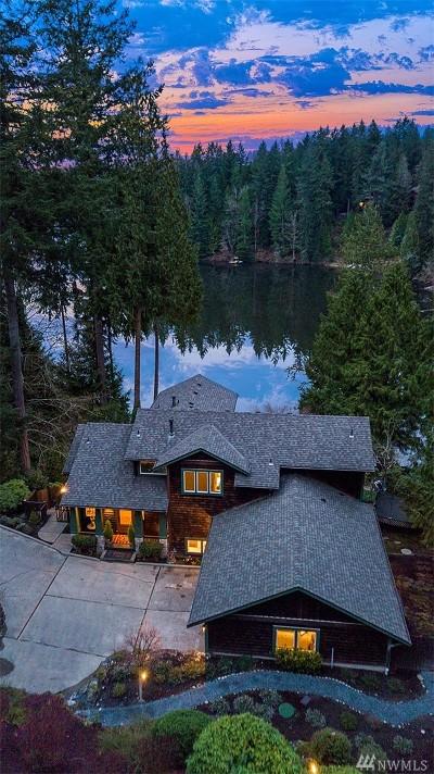 Redmond Single Family Home For Sale: 3036 W Ames Lake Dr NE