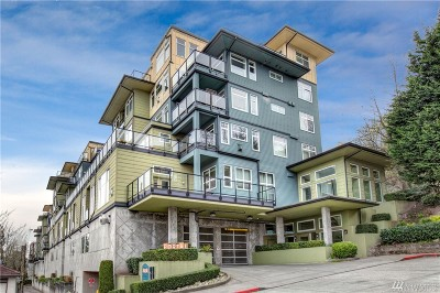 Condo/Townhouse Sold: 655 Crockett St #B208