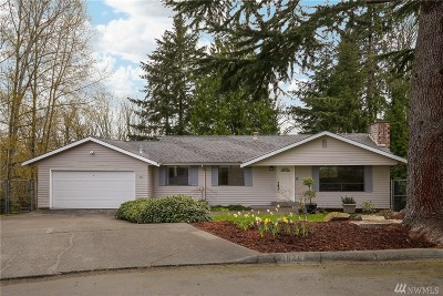 Bellevue Single Family Home For Sale: 1824 175th Place NE