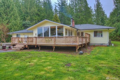 Enumclaw Single Family Home For Sale: 48811 284th Ave SE
