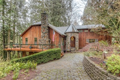 Maple Valley Single Family Home For Sale: 25819 SE 242nd St