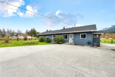 Sedro Woolley Single Family Home Pending: 28406 E Gilligan Creek Rd