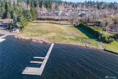Sammamish WA Residential Lots & Land For Sale: $4,750,000