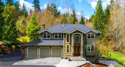 Woodinville Single Family Home For Sale: 15423 232nd Ave NE