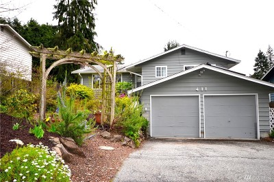 Shoreline Single Family Home For Sale: 411 N 190th St