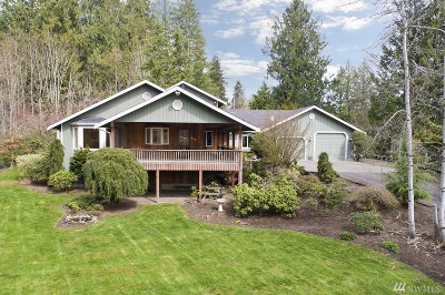 Lake Tapps Single Family Home Contingent: 20411 12th St E
