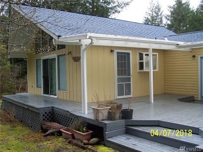 Lilliwaup Single Family Home Pending: 41 N Lake Surf Dr