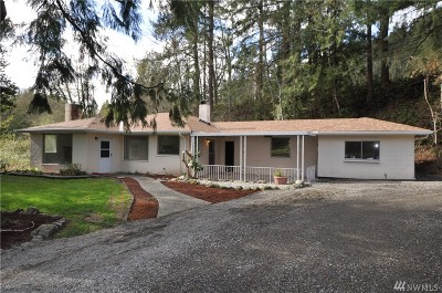 Enumclaw Single Family Home For Sale: 27701 SE Mud Mountain Rd
