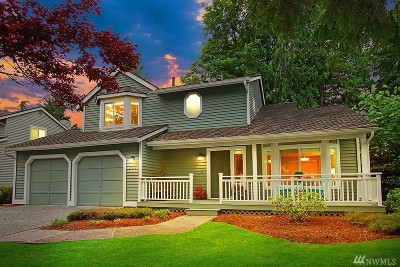 Sammamish Single Family Home For Sale: 2613 234th Ave NE
