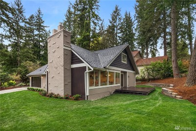 Bellevue Single Family Home For Sale: 16670 SE 17th Place