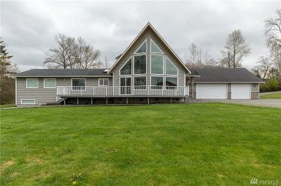 Skagit County Single Family Home For Sale: 12883 Magnolia Lane