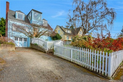 Bellingham Single Family Home For Sale: 811 16th St