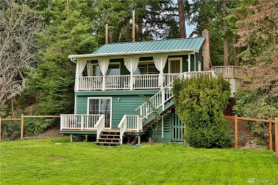 Freeland Single Family Home Pending Inspection: 5822 Mutiny Bay Rd