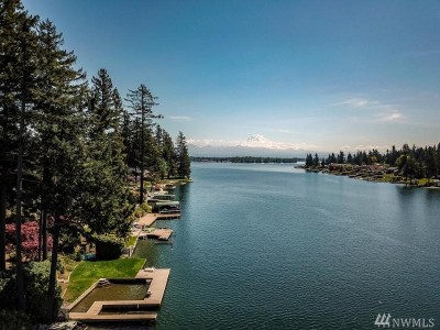 Lake Tapps Single Family Home Contingent: 1810 Channel Rd E
