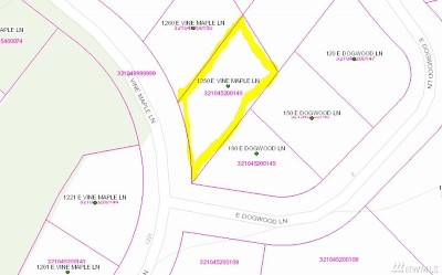 Mason County Residential Lots & Land Pending Feasibility: 1250 E Vine Maple Lane