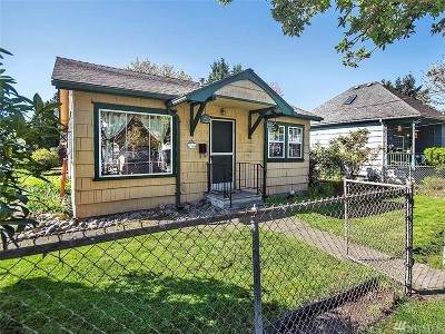 Seattle Single Family Home For Sale: 1047 S Thistle St
