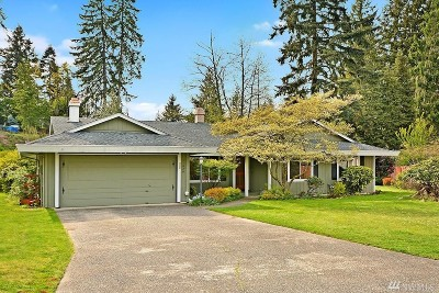 Bellevue Single Family Home For Sale: 11626 SE 67th Place