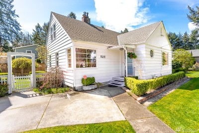 Pierce County Single Family Home For Sale: 8412 Veterans Dr SW