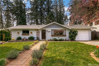 Bothell Single Family Home For Sale: 20021 95th Place NE