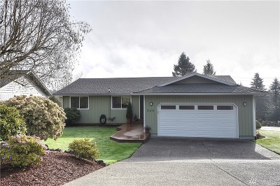 Tumwater Single Family Home For Sale: 320 B St SW