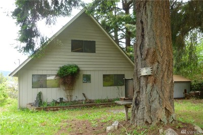 Lilliwaup Single Family Home Pending Inspection: 81 N Oyster View Trail