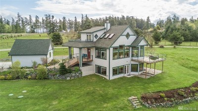 Coupeville Single Family Home Contingent: 1542 Grateful Acre Place