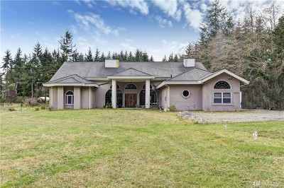 Port Orchard Single Family Home For Sale: 8624 SE Overaa Rd