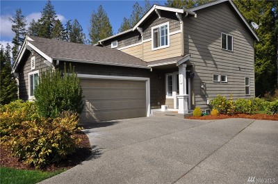 Port Orchard Single Family Home For Sale: 4612 Strathmore Cir SW